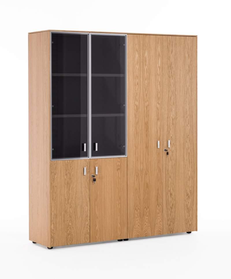 Шкаф комбинированный с гардеробом 1620x440x1970