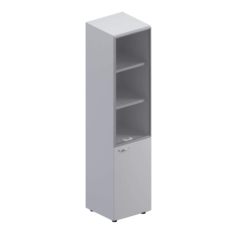 Шкаф высокий со ст. верхн дверью (правый/левый) 450x463x1967