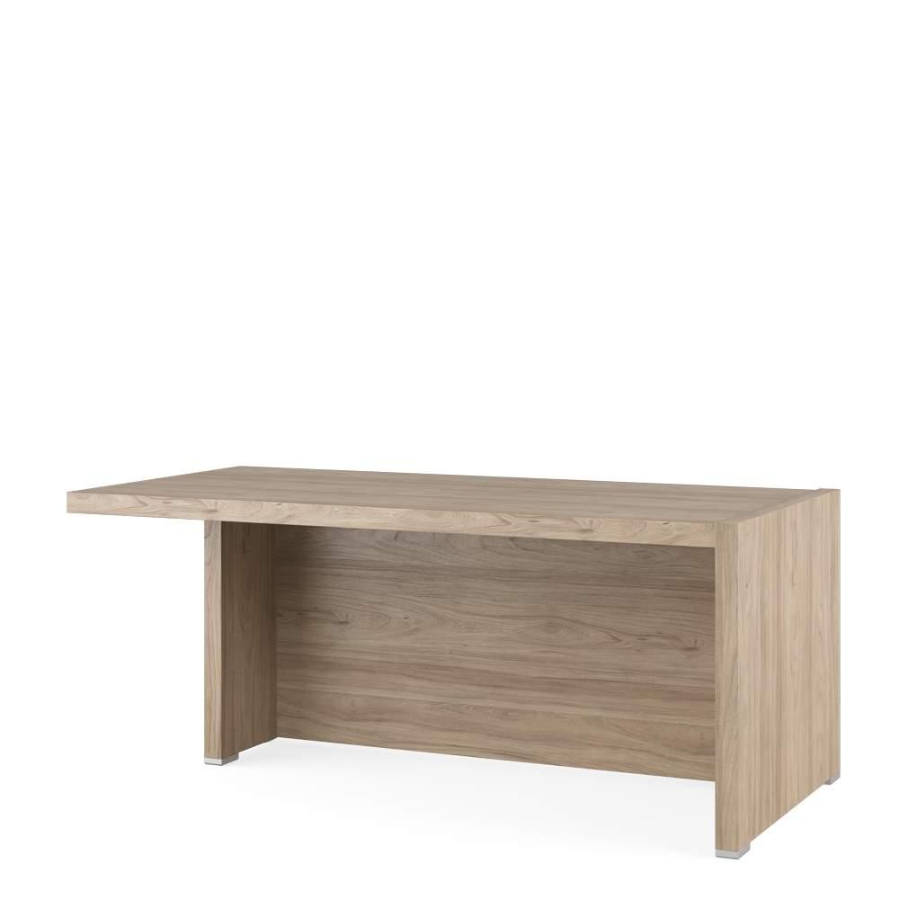 Стол письменный с асимметричными опорами, левый 1800x880x750