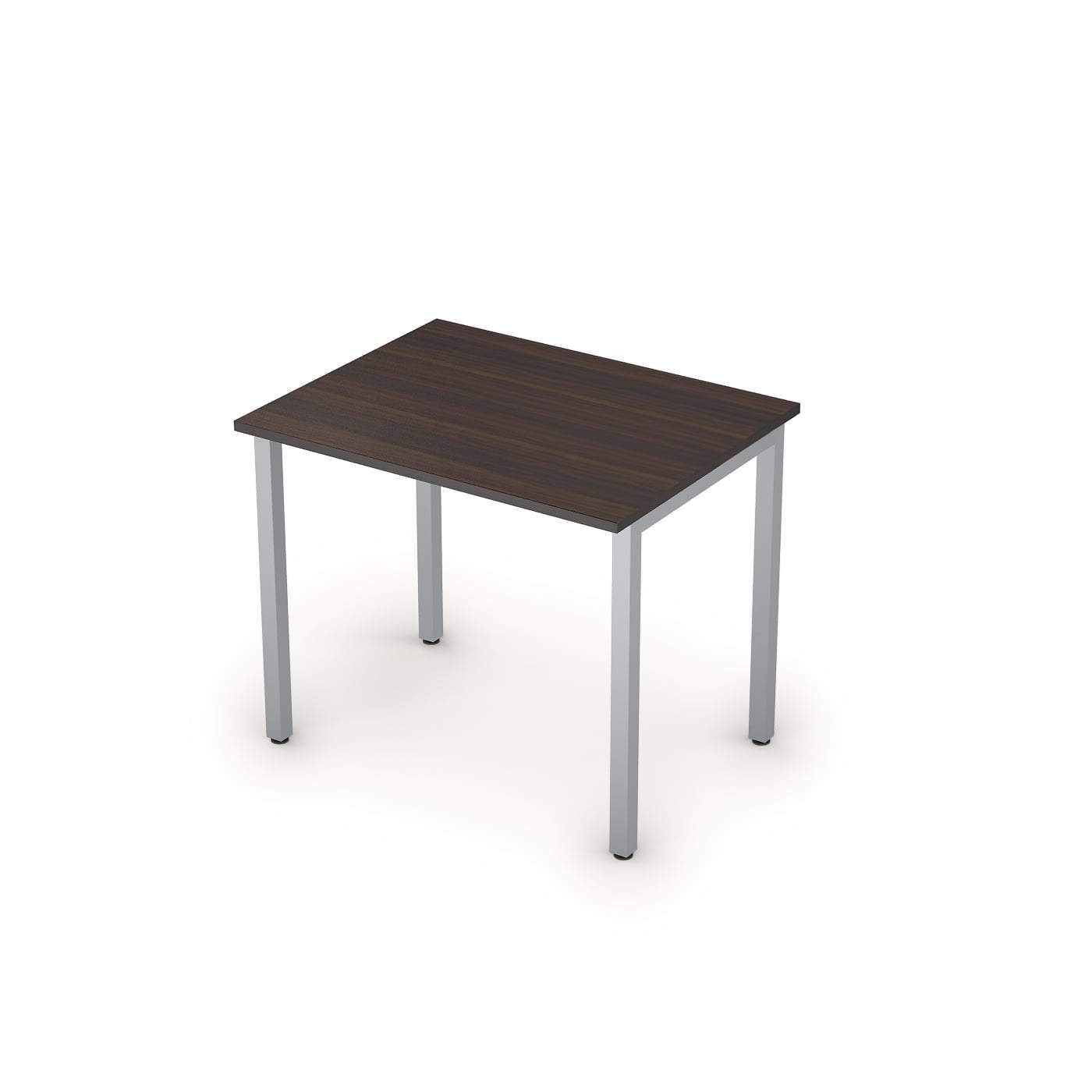 Столы на металлических опорах без экрана  900х700х750