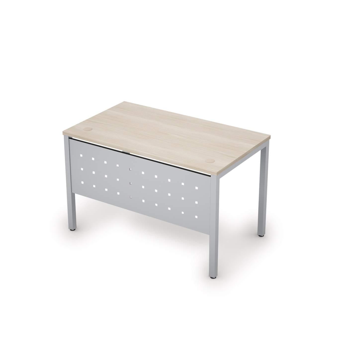 Стол с экраном из металла 1200х700х750