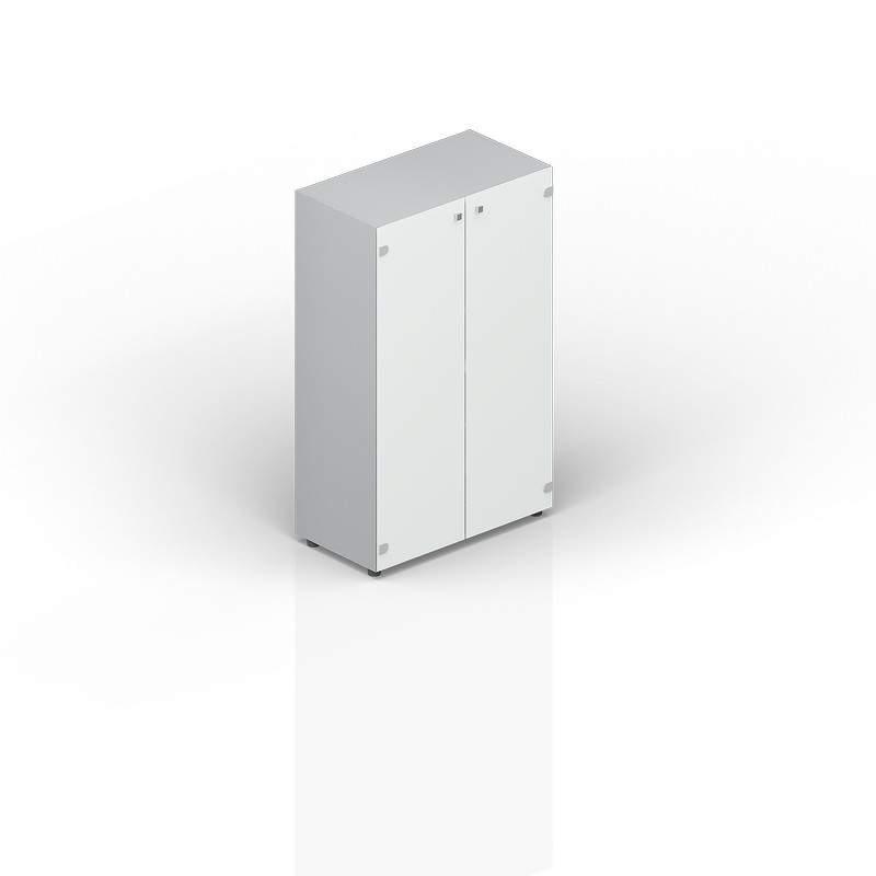 Шкаф средний матовое стекло 800х440х1180
