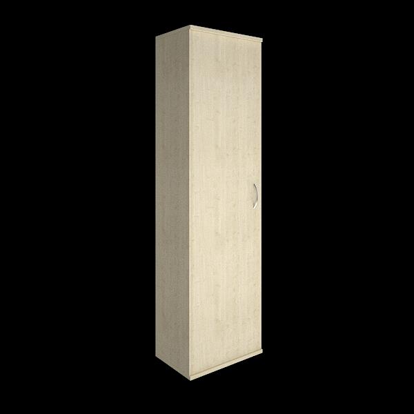 Гардероб узкий (выдвижная вешалка, правое открывание) 550х365х1980