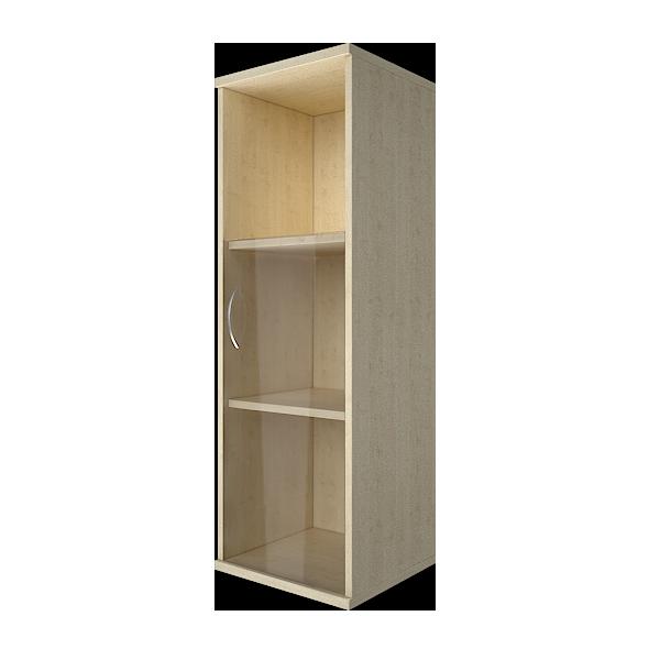 Шкаф узкий со стеклом правый 403x365x1200