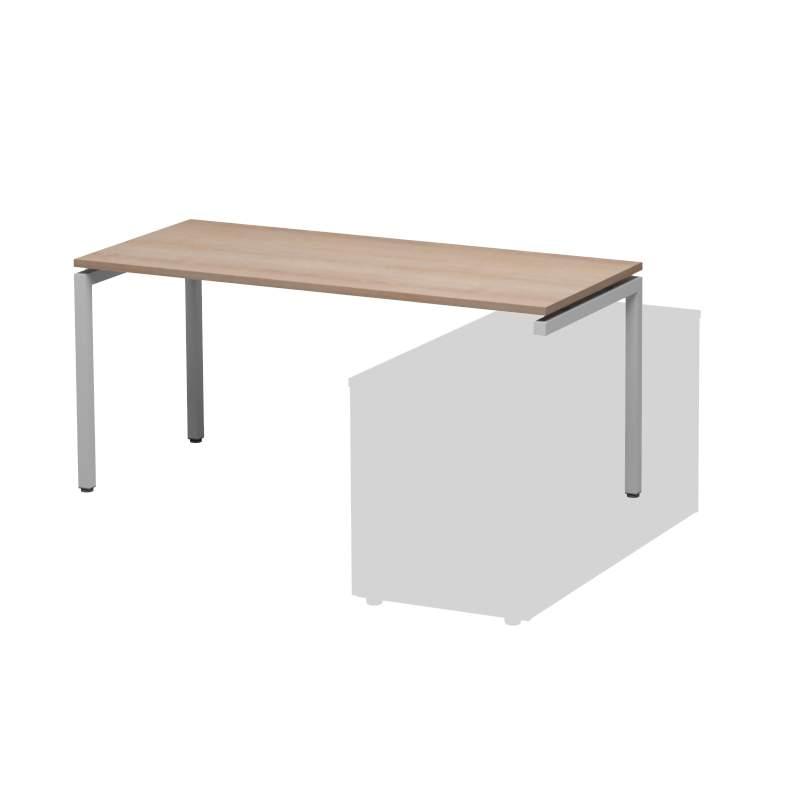 Стол на 3х опорах 1600x700x740