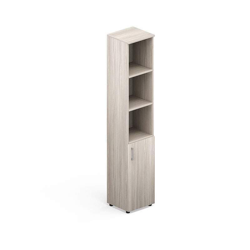 Шкаф узкий полузакрытый  400х380х1890