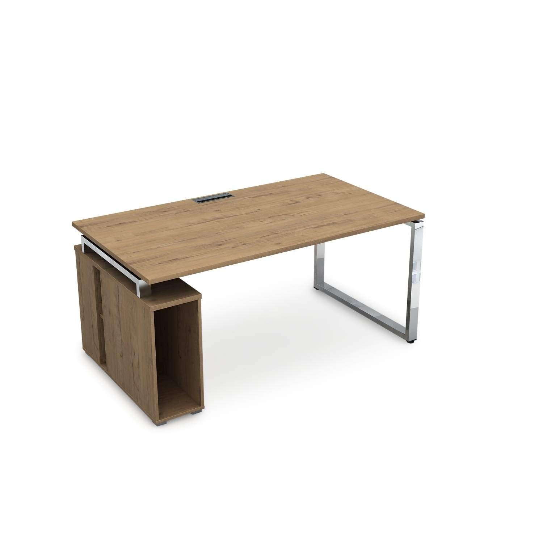 Стол с тумбой под системный блок 1600x900x750