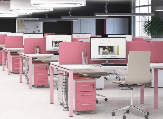Мебель для сотрудников SENTIDA COLOR
