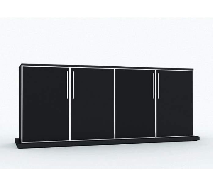 GALA Шкаф низкий 4 двери 192x44xh88