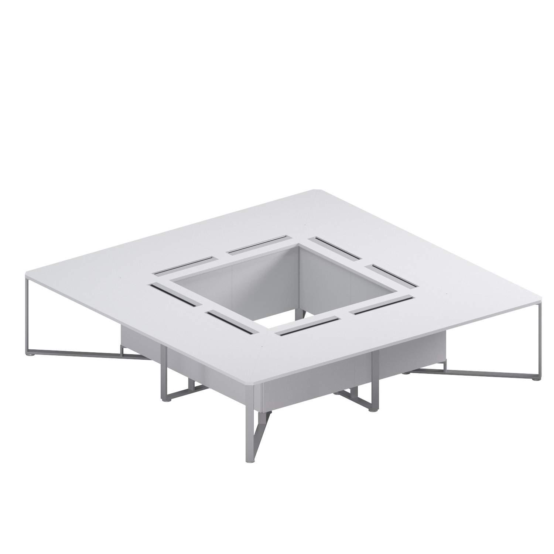 Квадратный стол 3200x3200x750