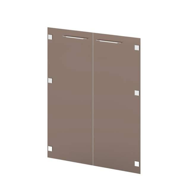 Двери стеклянные средние 1102х900х4