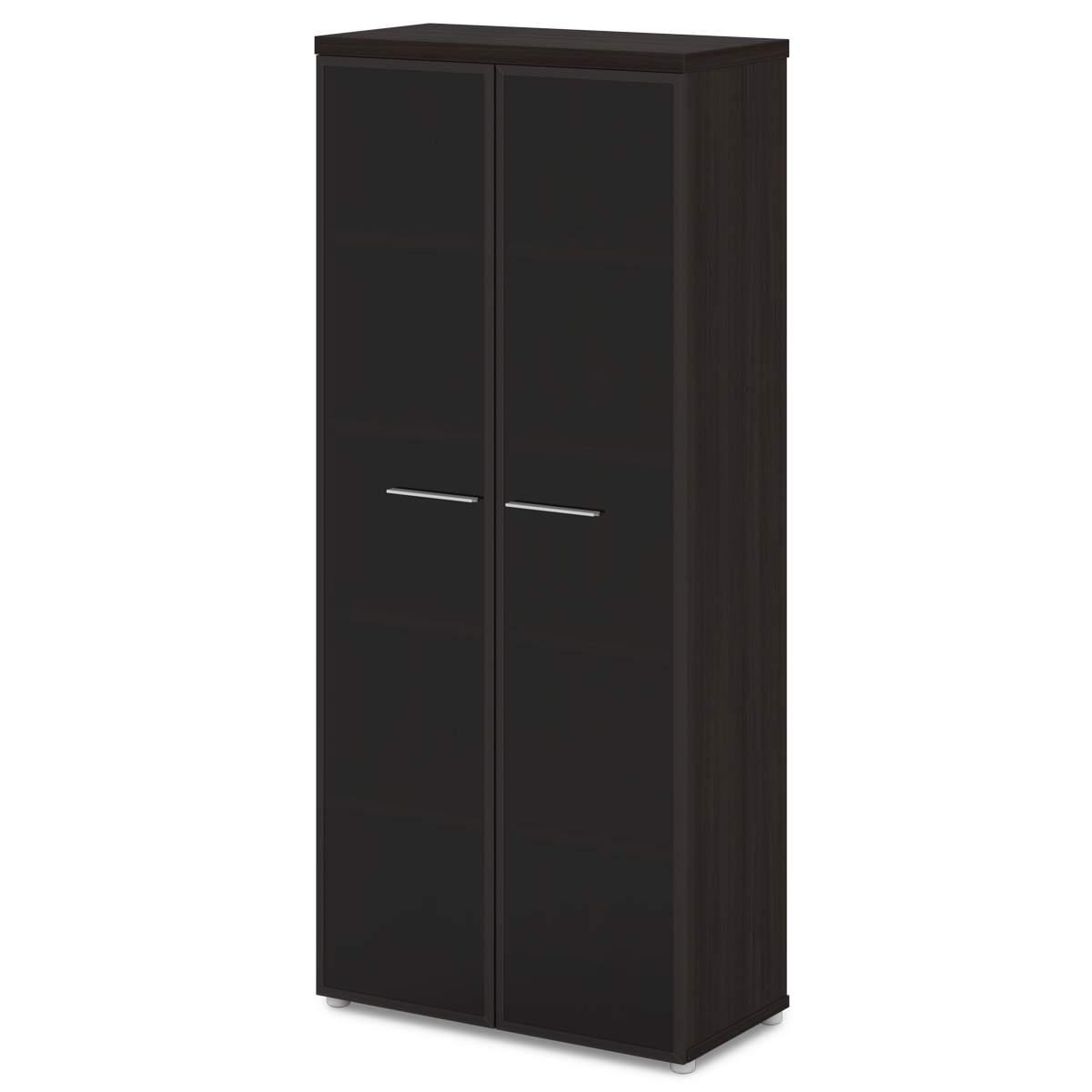 Шкаф высокий со стеклом 880x442x2014