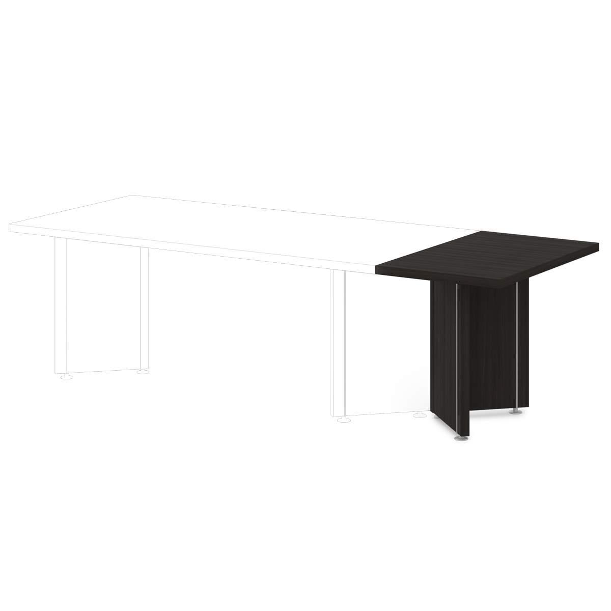 Приставка к столу для переговоров 600x1000x760
