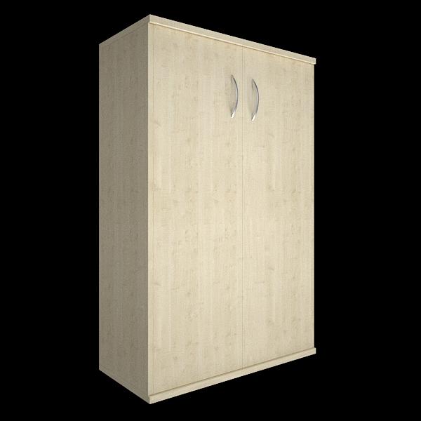 Шкаф средний закрытый с 2мя дверями 770x365x1200