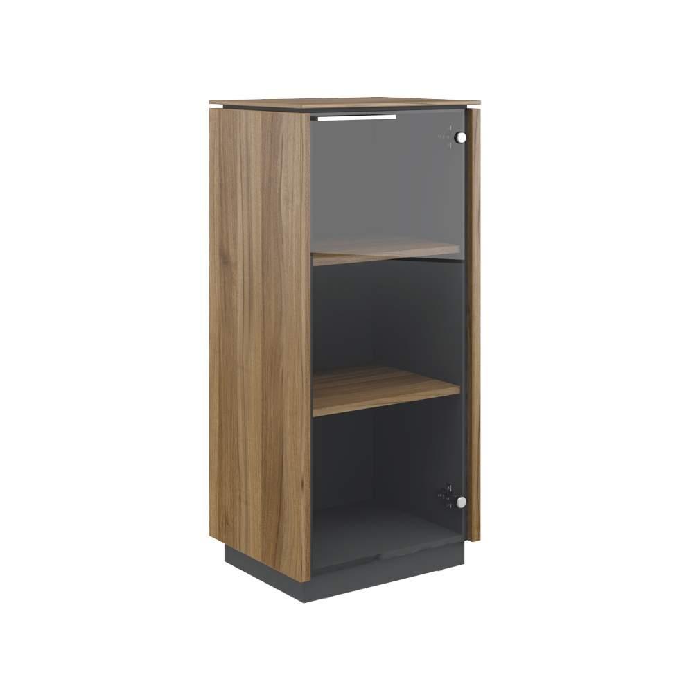 Шкаф однодверный средний стекло правый 540x420x1170