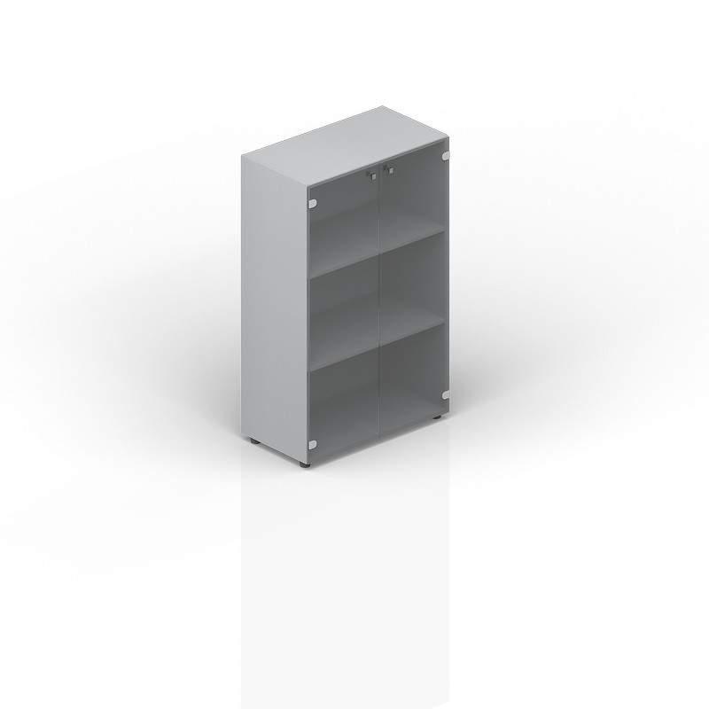 Шкаф средний тонированное стекло 800х440х1180