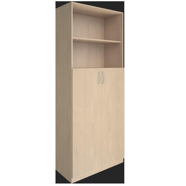 Шкаф высокий с двумя дверцами 770x359x1914