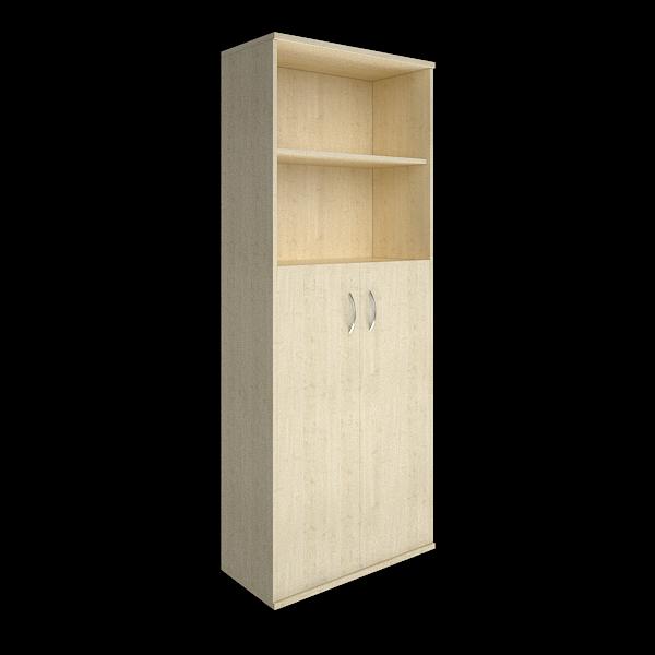 Шкаф высокий полуоткрытый с 2мя дверцами 770x365x1975
