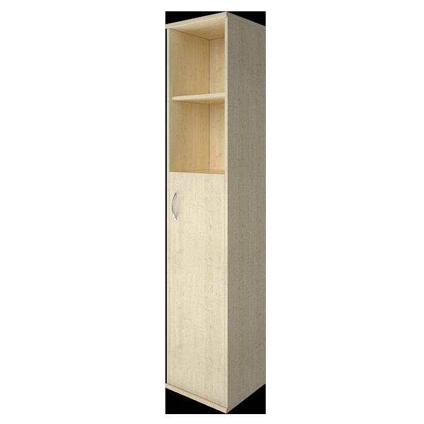 Шкаф высокий узкий правый полуоткрытый с 1 дверцей 403x365x1975
