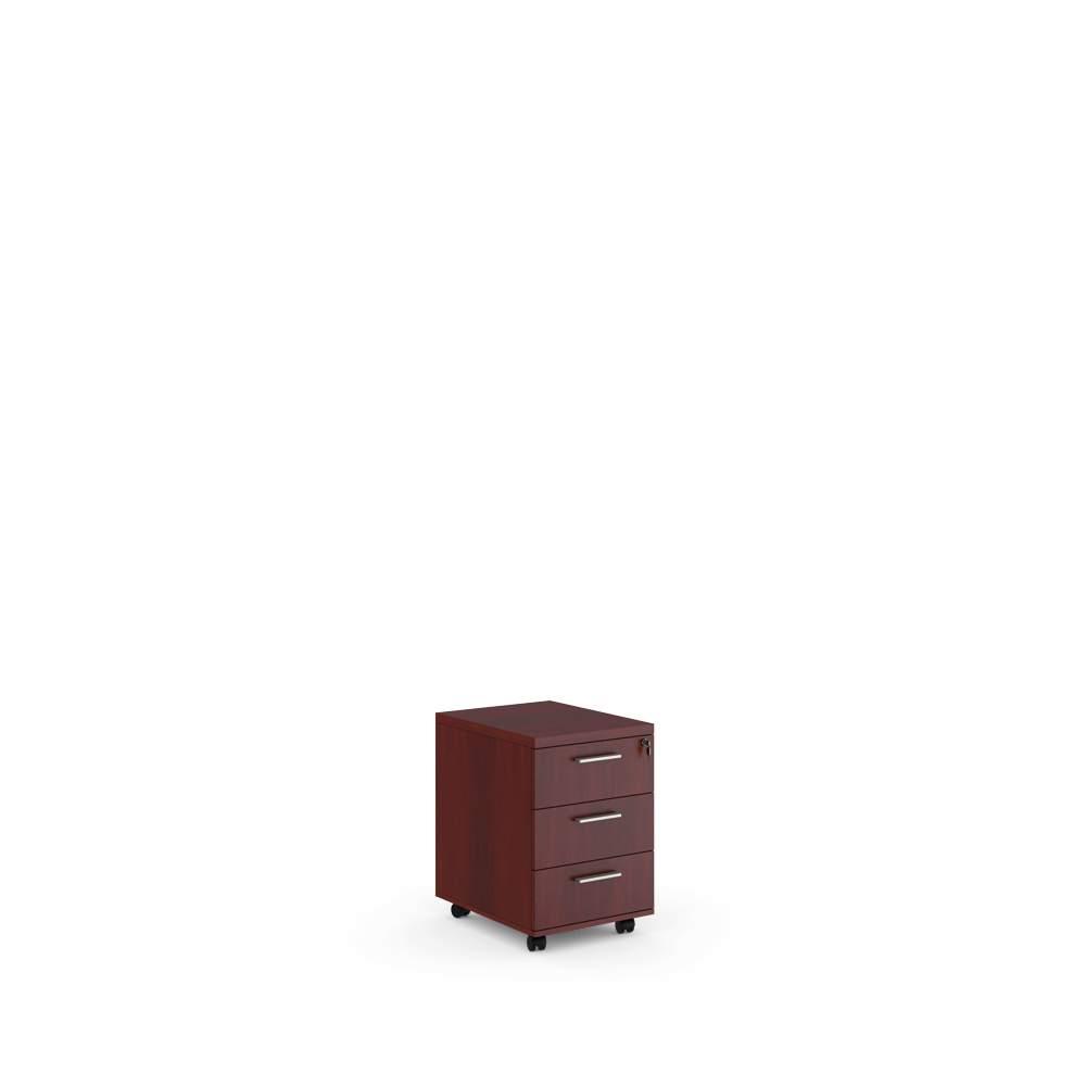 Тумба подкатная с 3 ящиками 480x620x600