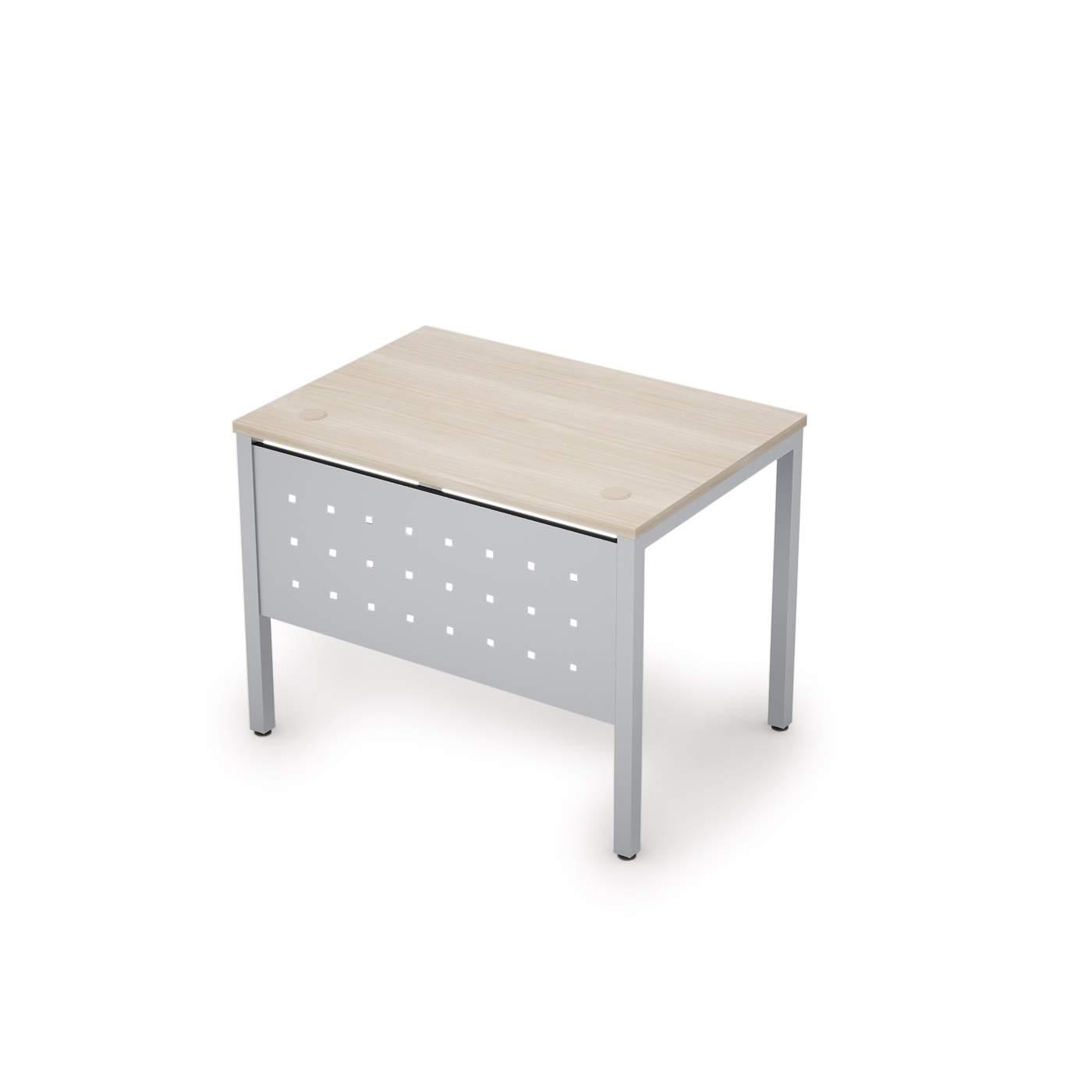 Стол с экраном из металла 1000х700х750