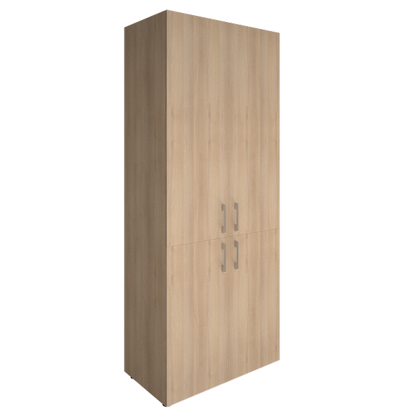 Шкаф высокий закрытый 800x450x1990