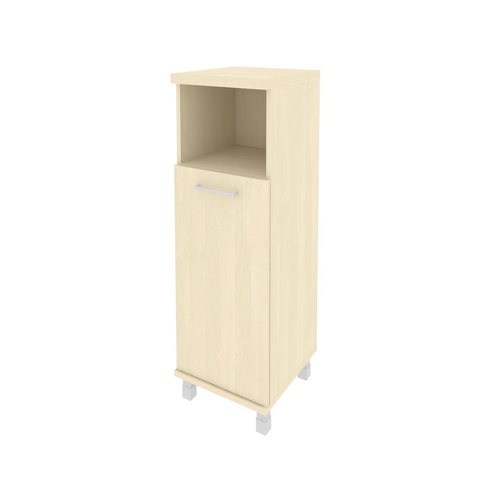 Шкаф средний узкий правый комбинированный 401x432x2060