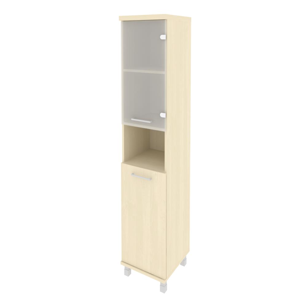 Шкаф высокий узкий правый комбинированный 401x432x2060