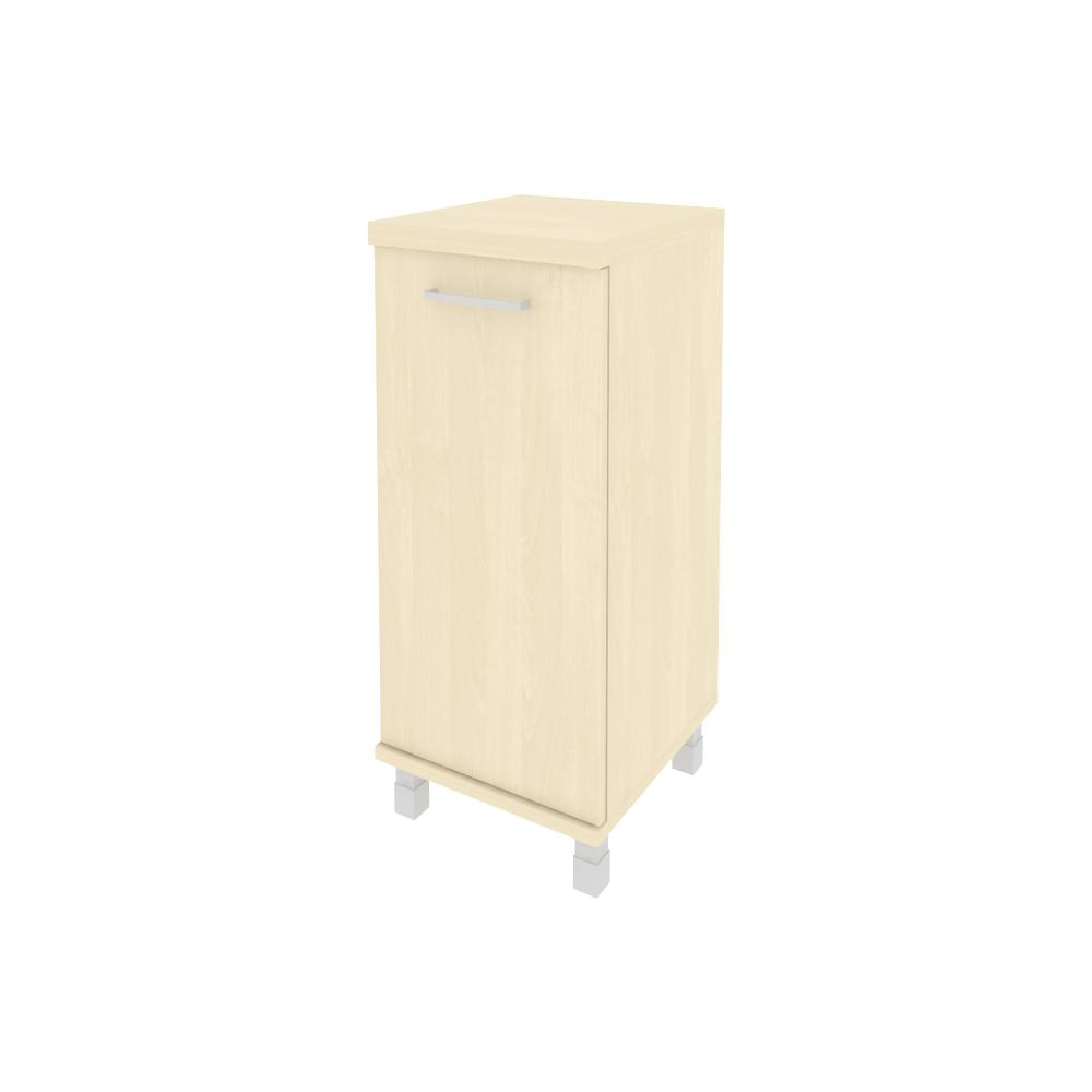 Шкаф средний узкий правый закрытый 401x432x2060