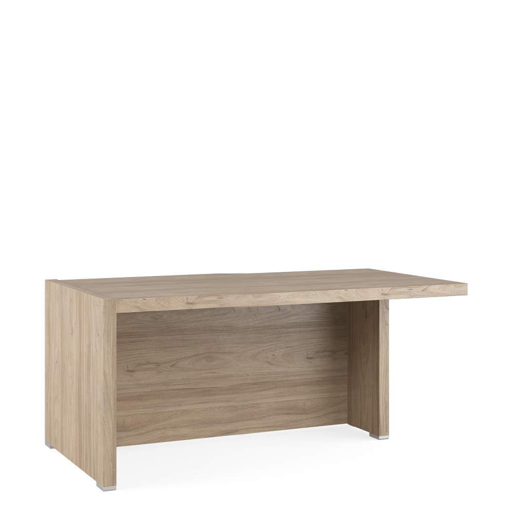 Стол письменный с асимметричными опорами, правый 1600x880x750