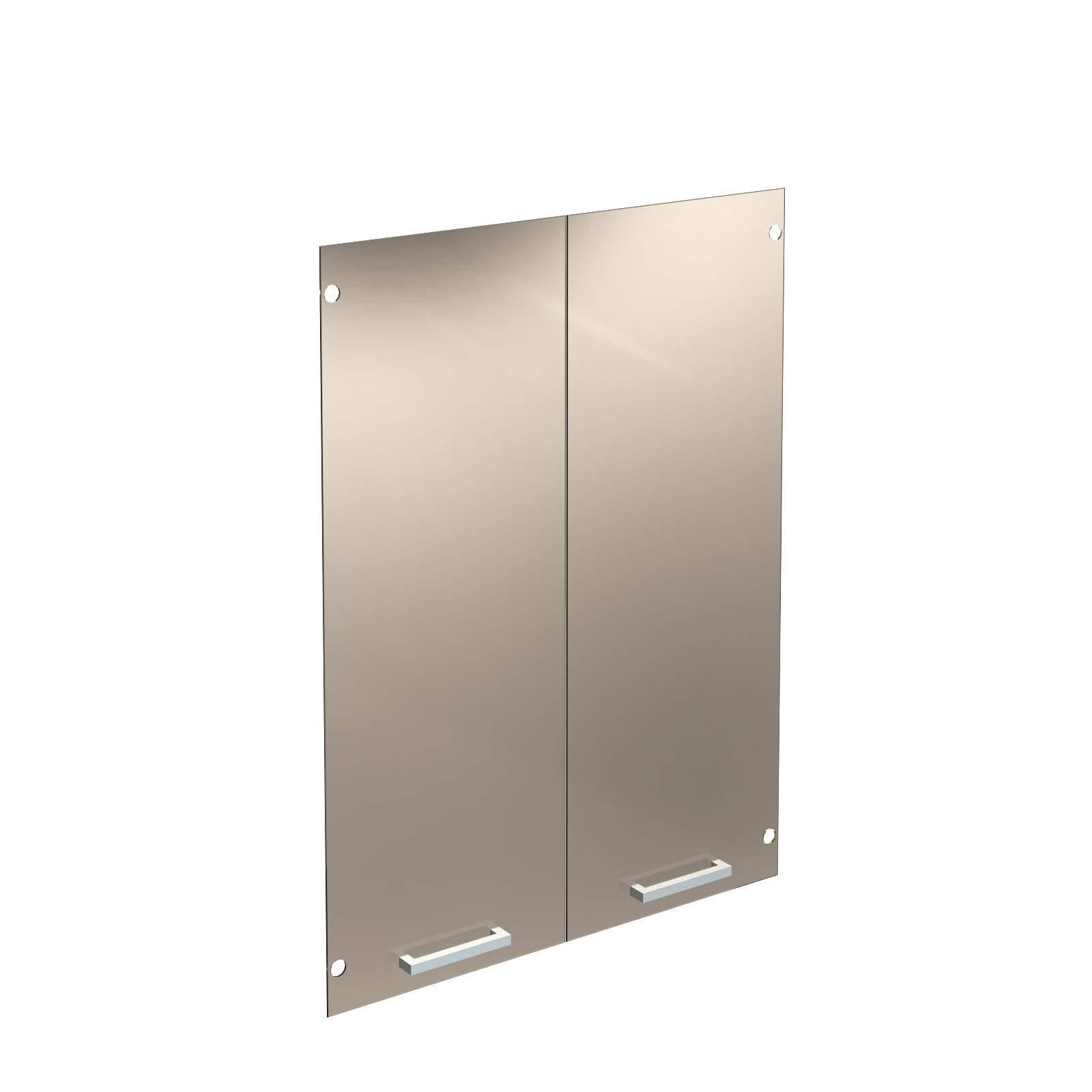Дверь стеклянная бронза тонированная 422x1132x4