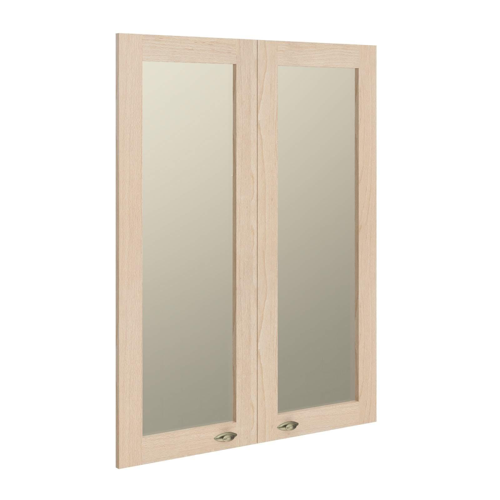 Стеклянные рамочные двери 880x27x1132
