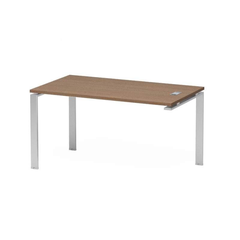 Стол с 2-я опорами 1600x800x740