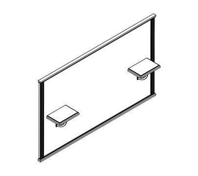Панель настенная 1774x218x1060