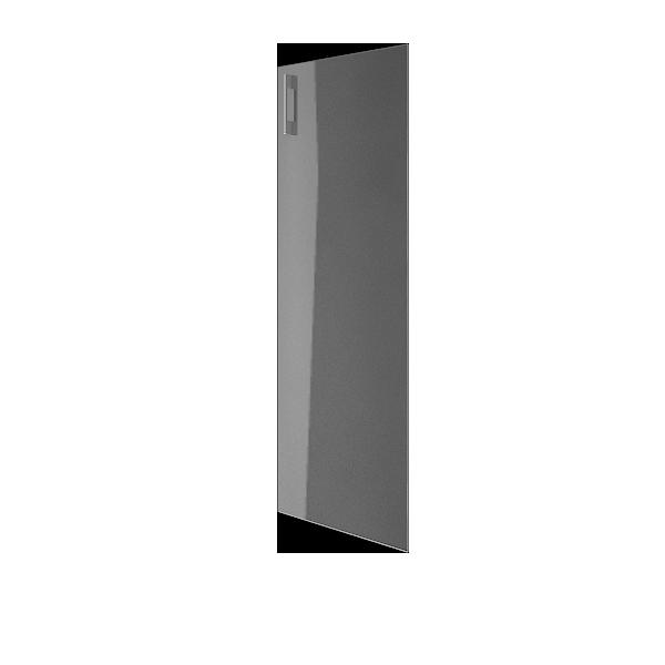 Дверь стеклянная матовая правая 397х1164х0,4