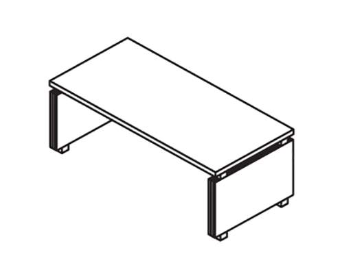 Стол руководителя 2200 2200x900x750