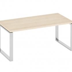 Стол с опорами цвета хром 2000x900x770